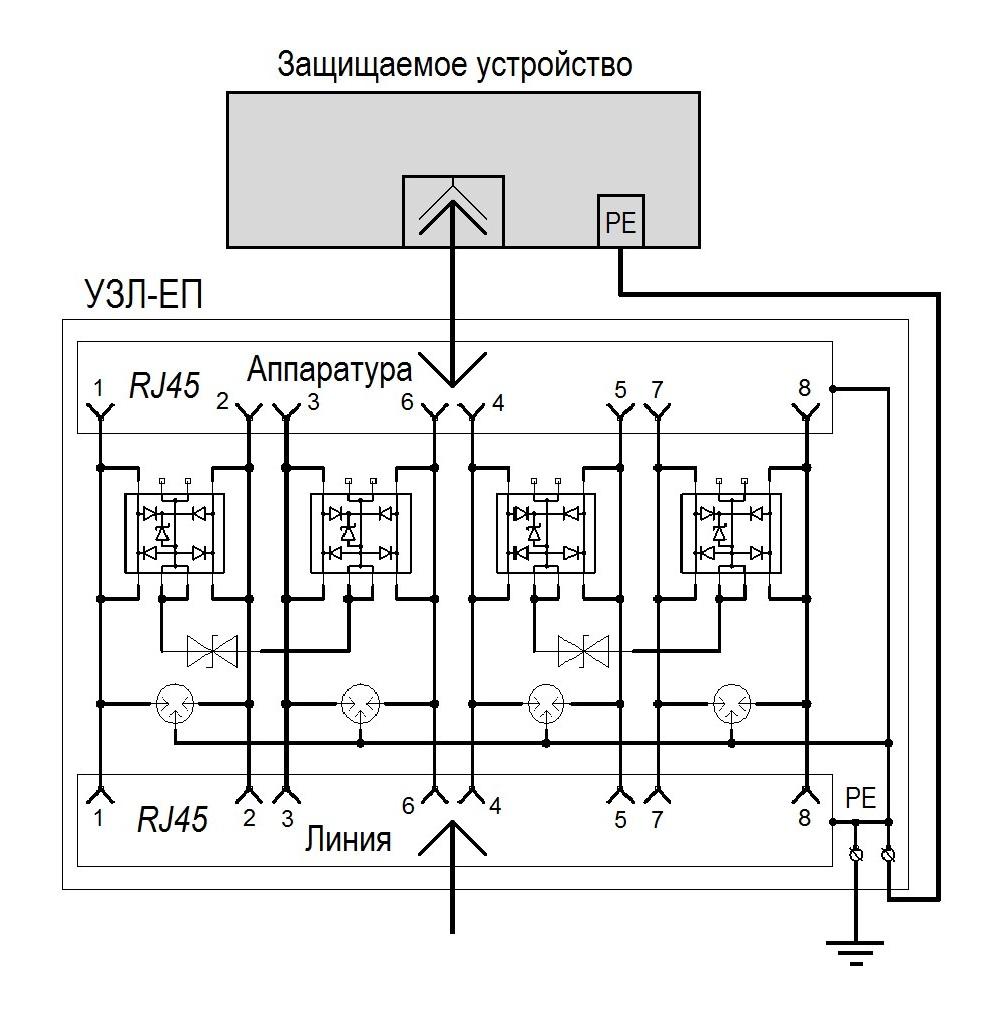 Схема УЗЛ-ЕП