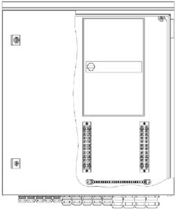 Шкаф приборный универсальный 600х600х210мм <br>ШПУ-1-04