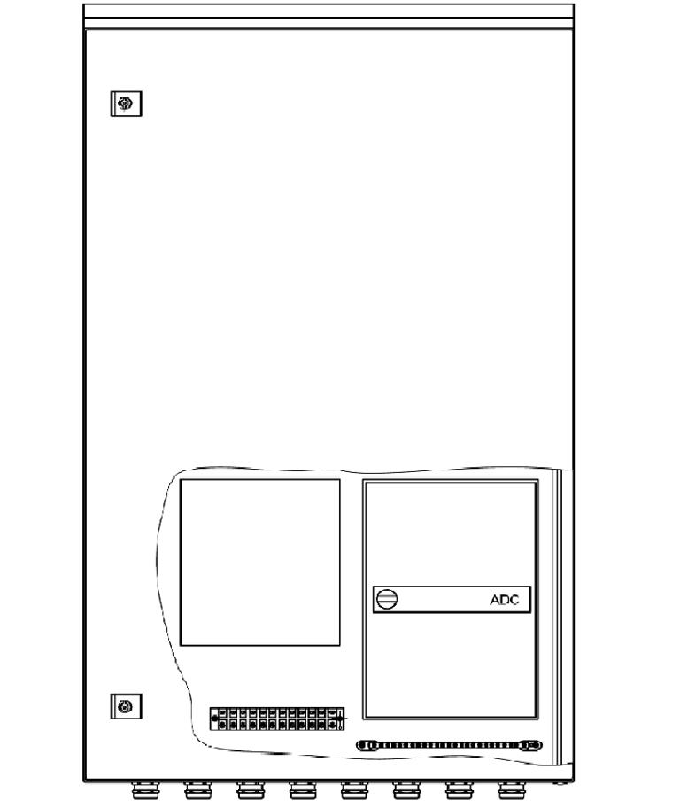 Шкаф приборный универсальный 600х1000х250мм <br>ШПУ-2Т-02