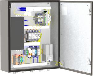 Термошкаф из нержавеющей стали (600х600х210мм, -60°С) <br>ТШН-1-02