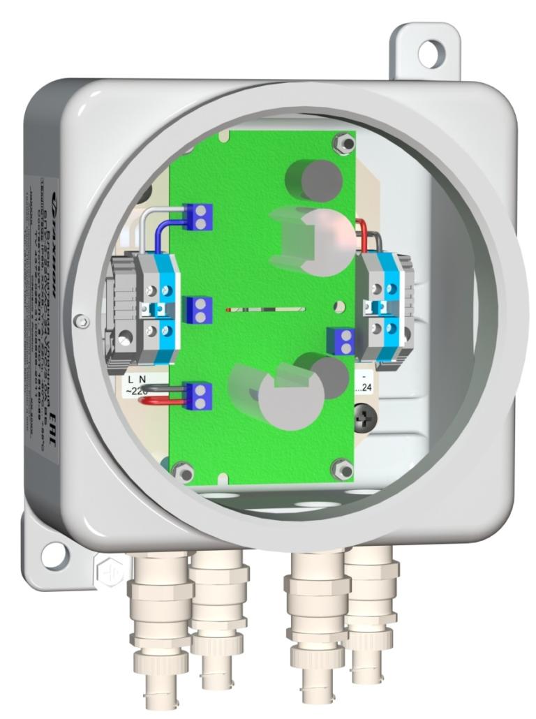 Блок питания уличный <br>БПУ-2-220VАС-24VDC/2,0А ВБ 15