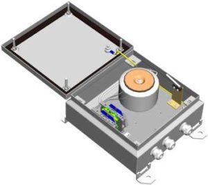 Блок питания уличный <br>БПУ-1-220VАС-24VAC/5,0А 14