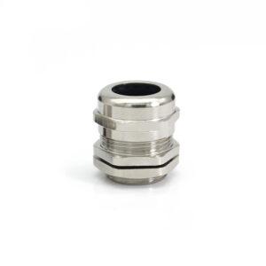 Гермоввод (с контргайкой и резиновым кольцом) 13-18 мм<br>никелированная латунь 14