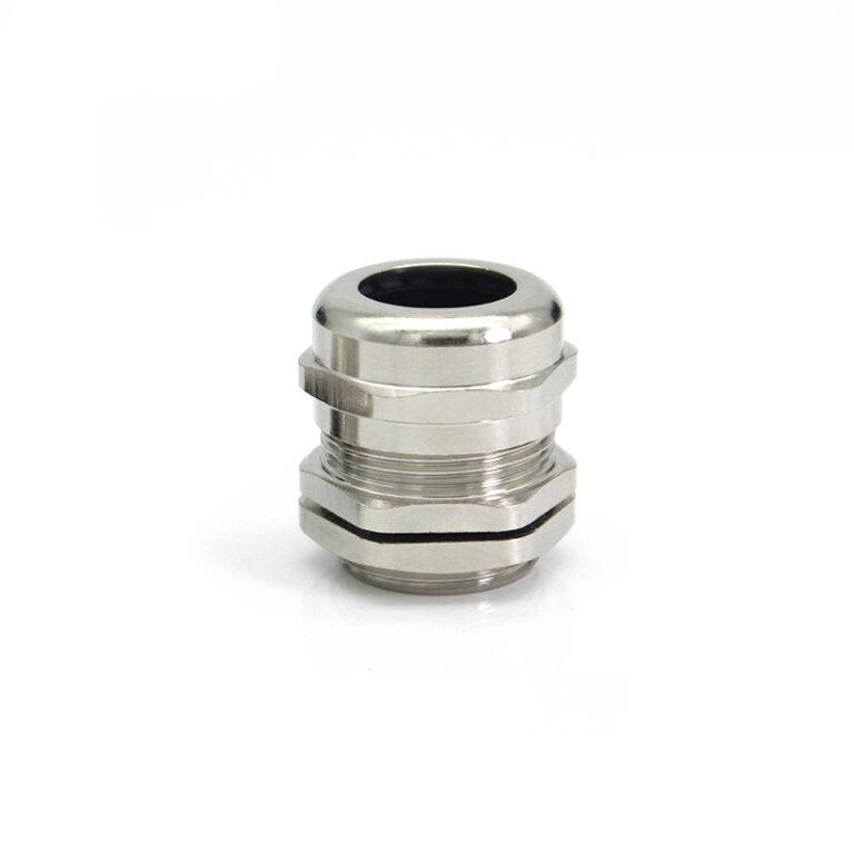 Гермоввод (с контргайкой и резиновым кольцом) 13-18 мм<br>никелированная латунь