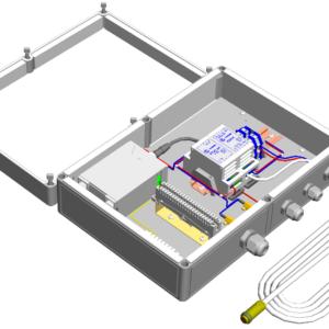 Коробка монтажная герметичная с обогревом <br>КМГО-24-1-3