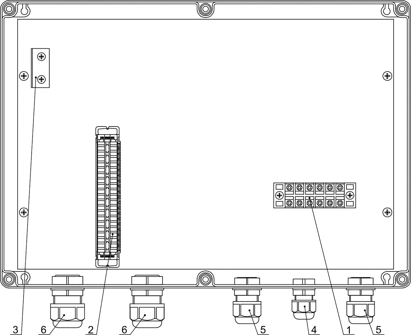 Устройство КМГ (крышка не показана)