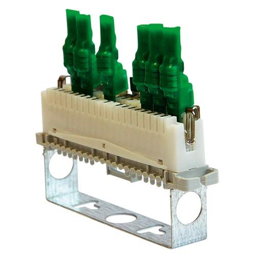 Устройство защиты оборудования в линиях систем сигнализации кроссовое <br>УЗЛ-СК-24