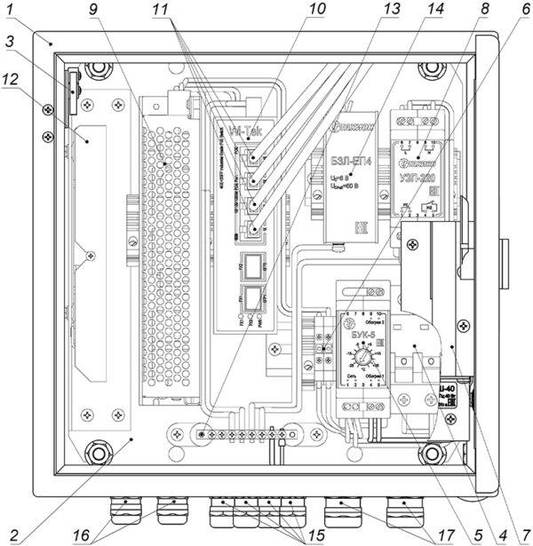 Устройство ВУК-14-РоЕ+ У11 У71