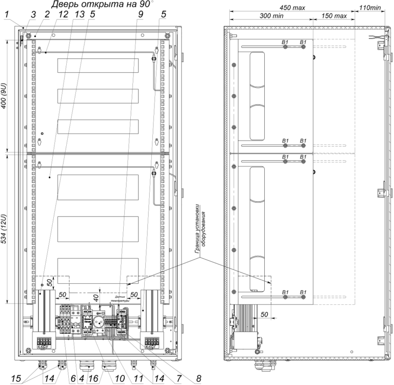 Устройство термошкафа ТШ-10