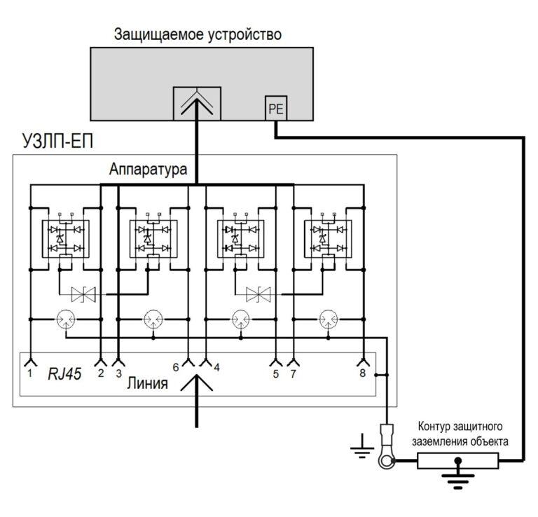 Схема УЗЛП-ЕП